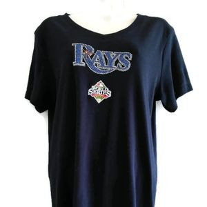 Rays Team Rhinestone 2008 Series Shirt